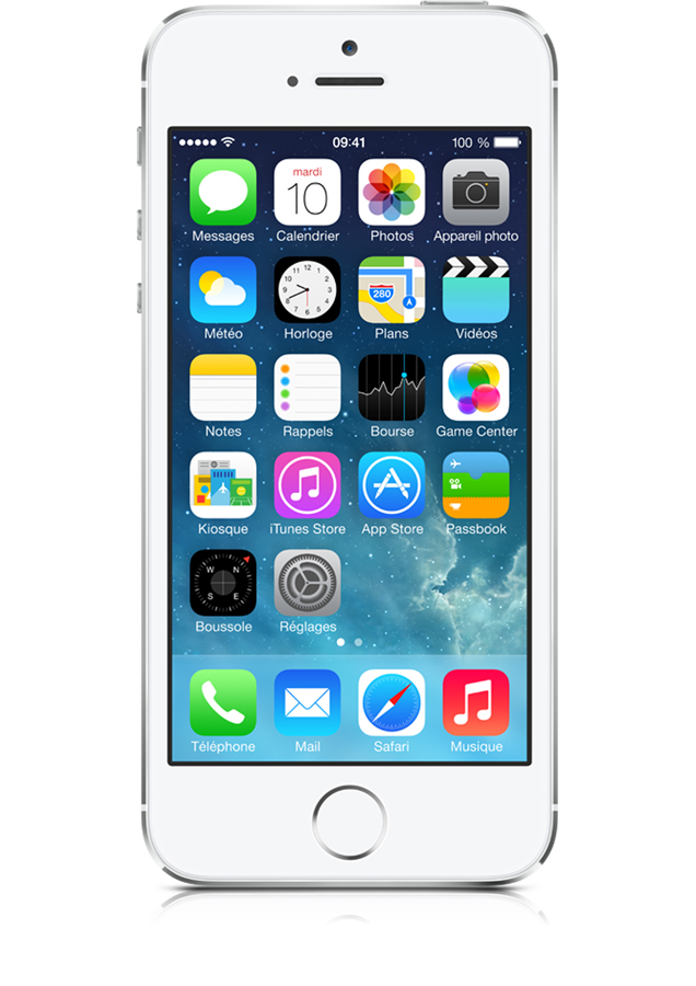 Apple iPhone 5S 16GB Argent