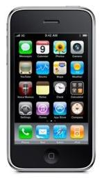 Apple iPhone 3GS 8Go  Noir